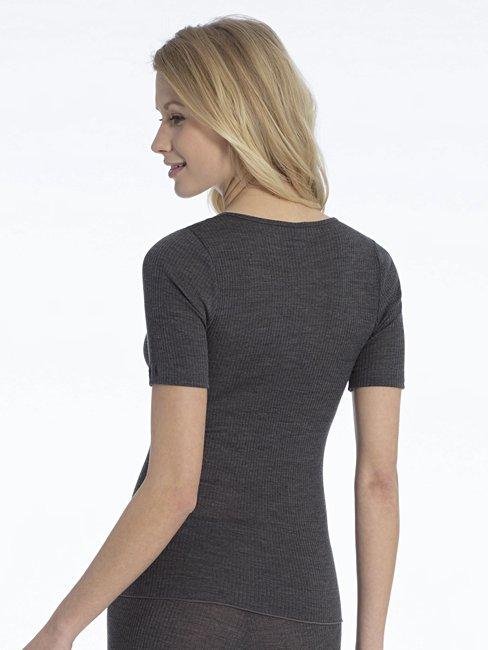 CALIDA Romina Kurzarm-Shirt aus Wolle-Seide