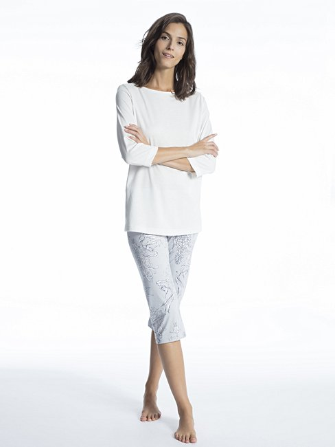 CALIDA Cosy Cotton Style Pyjama 3/4
