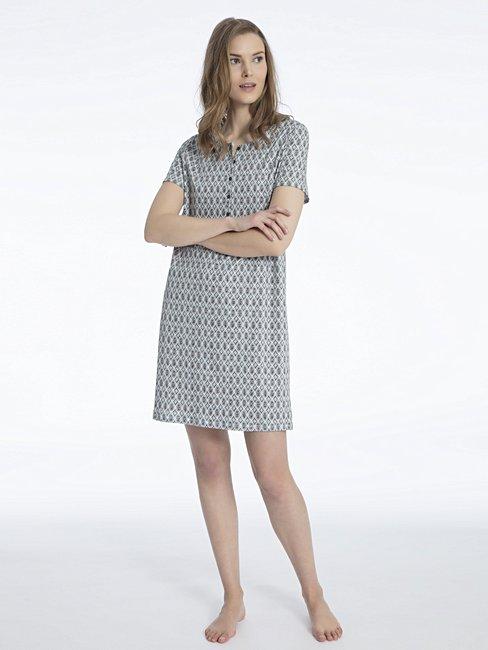 CALIDA Eleonor Sleepshirt con abbottonatura, lunghezza 95cm