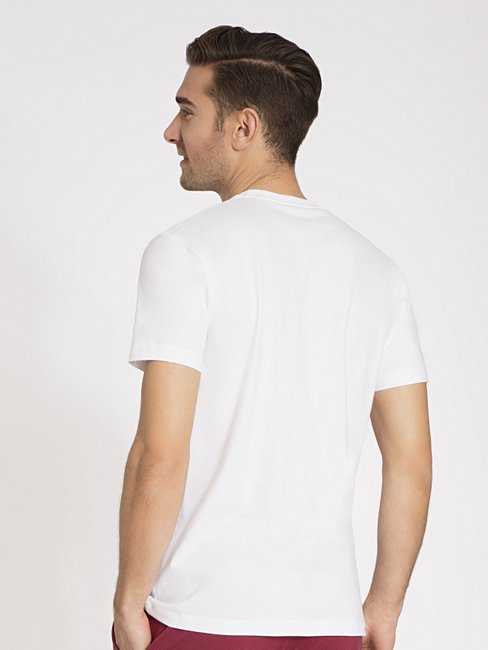 CALIDA Deep Sleep T-Shirt mit Brustprint