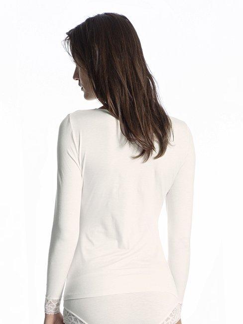 CALIDA Silky Modal Langarm-Shirt