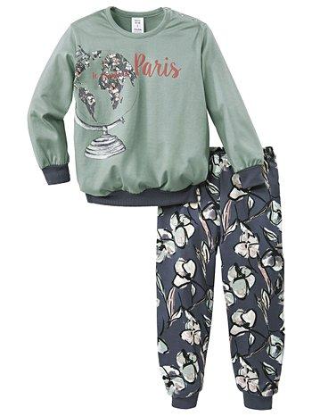 CALIDA Fly Away Pyjamas with cuff
