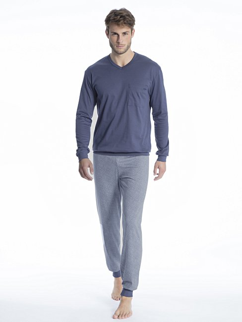CALIDA Relax Streamline 1 Pyjama with cuff