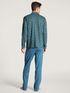 CALIDA Relax Imprint Durchgeknöpfter Pyjama