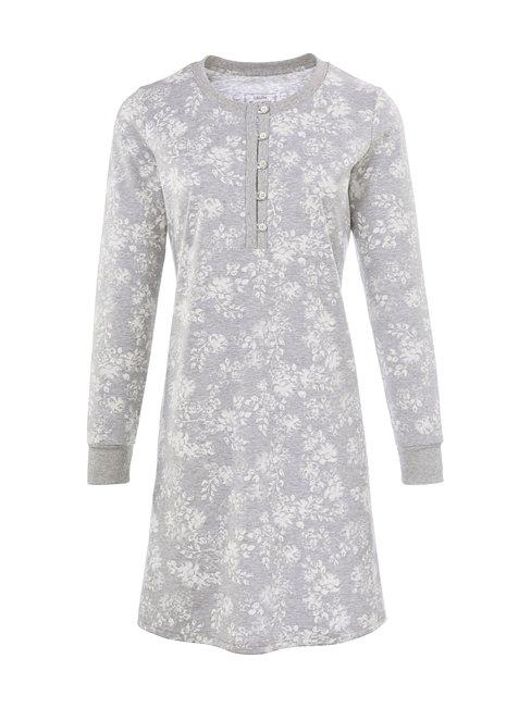 CALIDA Montrose Langarm-Sleepshirt mit Knopfleiste