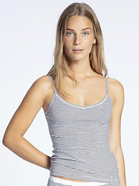 Calida Damen Comfort kurzarm Unterhemd aus Baumwolle und Elasthan