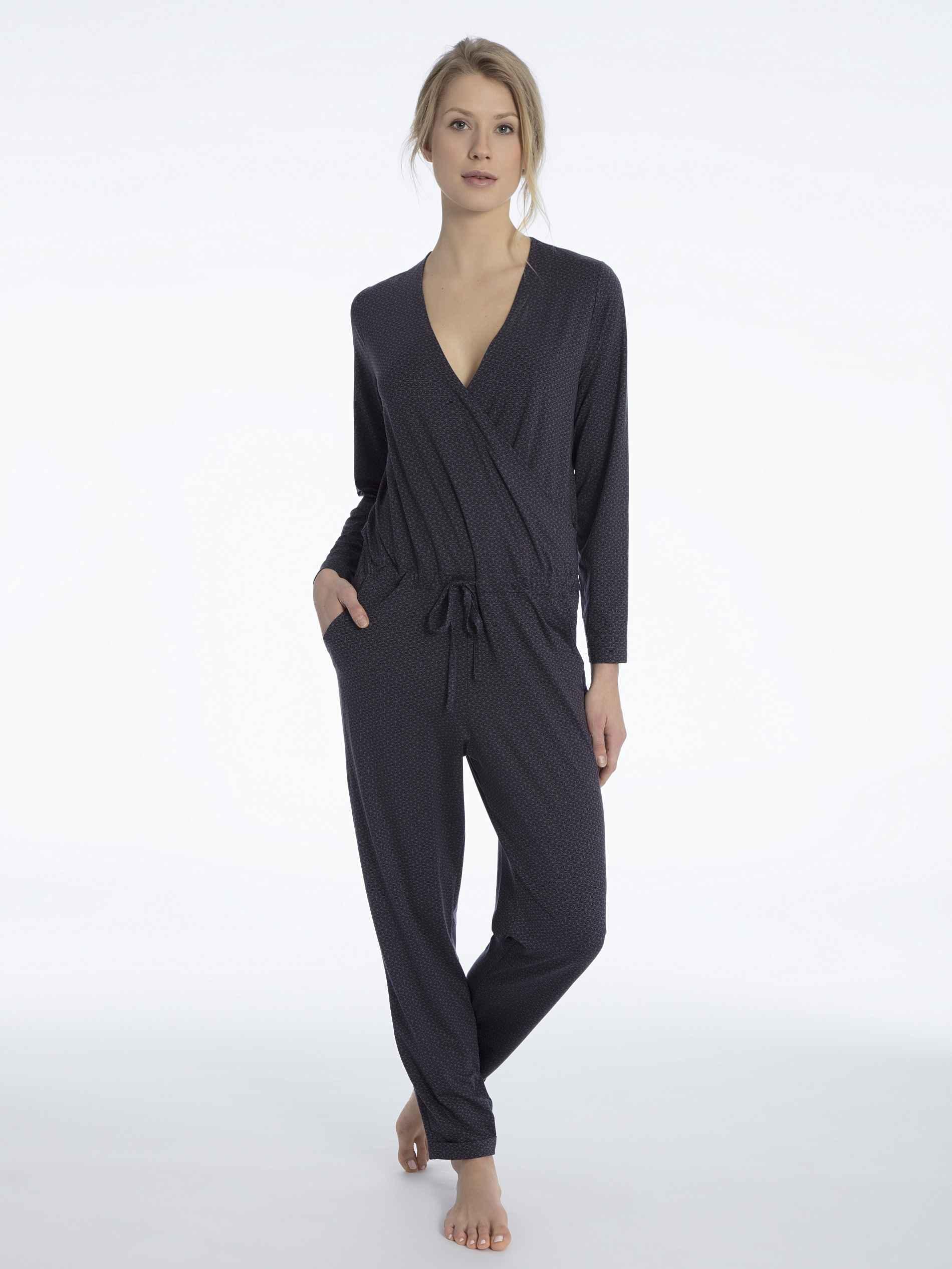 Damen CALIDA Favourites Trend 2 Jumpsuit rot   07613381052761