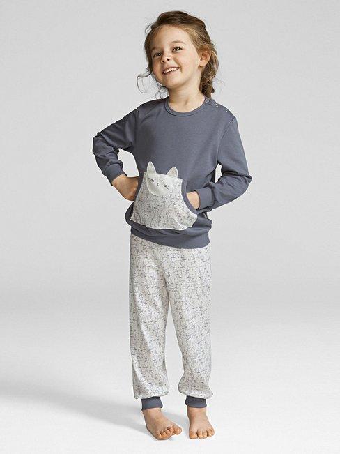 CALIDA Cat Dreams Kinder-Bündchenpyjama