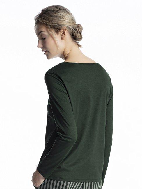 CALIDA Favourites Trend 3 Langarm-Shirt, V-Neck