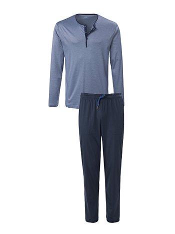 CALIDA Nimo Pyjama mit Knopfleiste