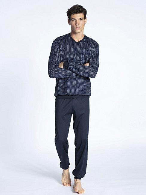 CALIDA Herren Herren-Nachthemd Relax Imprint 1