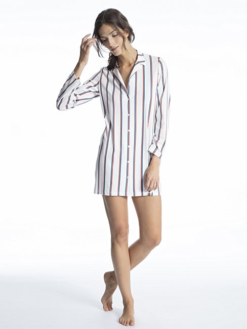 CALIDA Cosy Choice Sleepshirt, lungezza 85cm