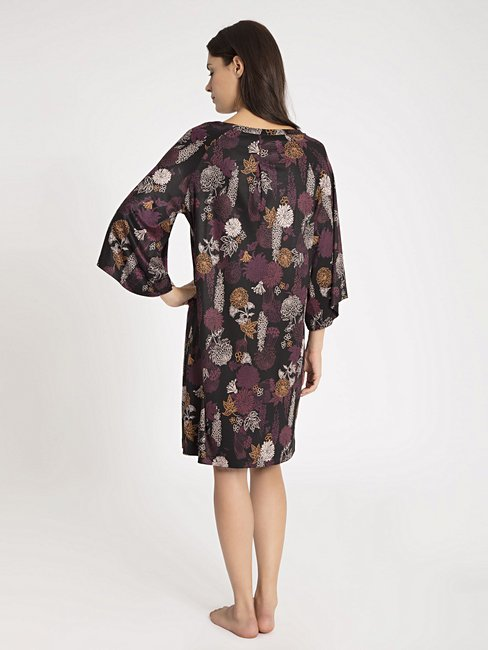 CALIDA Favourites Xmas Trend 2 Sleepshirt im Tunika-Stil, Länge 95cm
