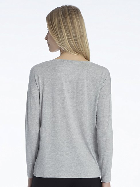 CALIDA Favourites Essentials Oversize-Langarmshirt