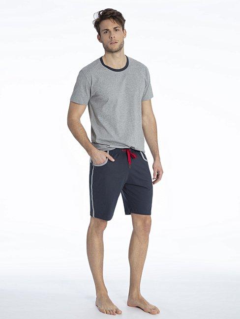 d05e1d54c3 CALIDA Elo Short pyjama grey | CALIDA Online-Shop