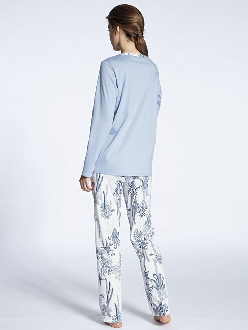 CALIDA Cosy Cotton Fair Pyjama lang