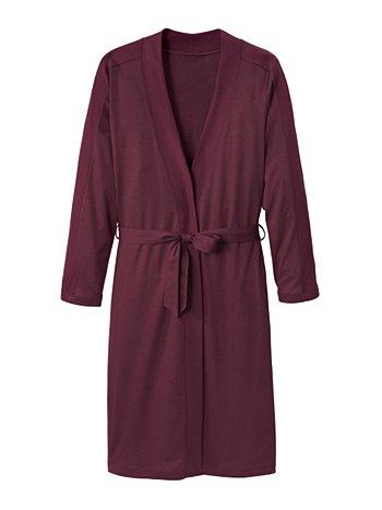 CALIDA Favourites Trend 2 Jersey-Kimono, Länge 110cm