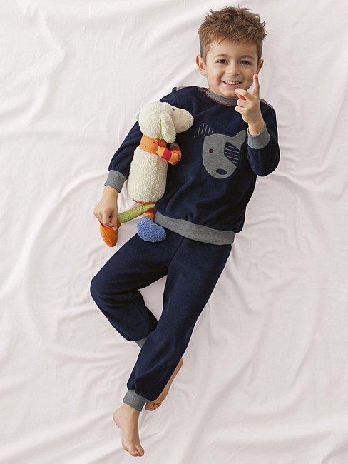 CALIDA College Kid Pyjamas with cuff
