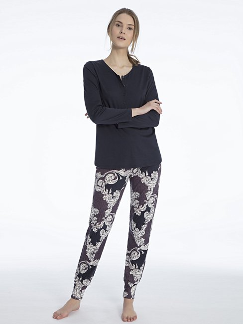CALIDA Shirin Pyjama with cuff