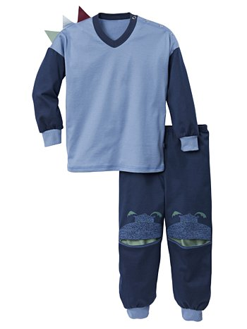 CALIDA Sleeping Dragon Kinder-Schlafanzug mit Bündchen