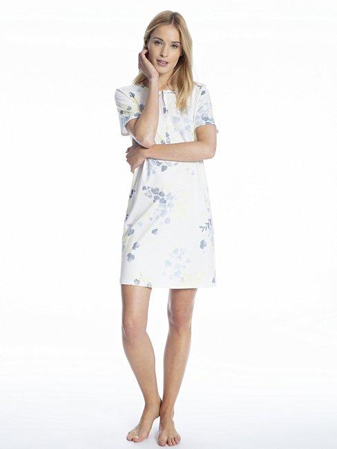CALIDA Cosy Blossom Bigshirt, Länge 95cm