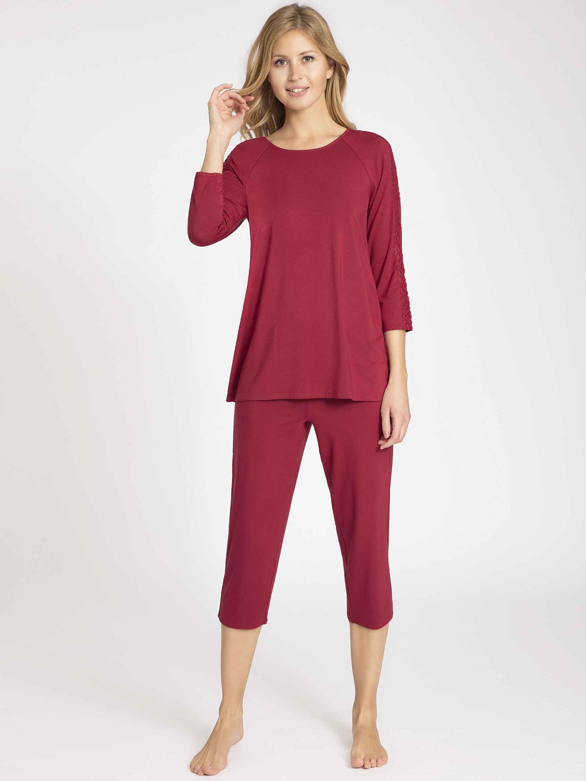 Damen CALIDA Eliza 7/8-Pyjama    07613306494966