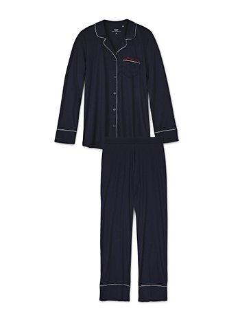 CALIDA Heartbreaker Pyjama, durchgeknöpft