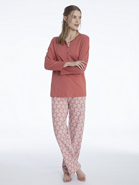 CALIDA Nadia Pyjama with button tab