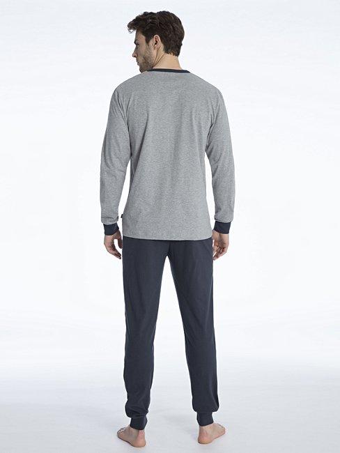 CALIDA Elo Pyjama avec bords élastiques