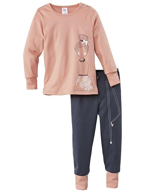 CALIDA Lacy Sweetheart Pyjamas with cuff
