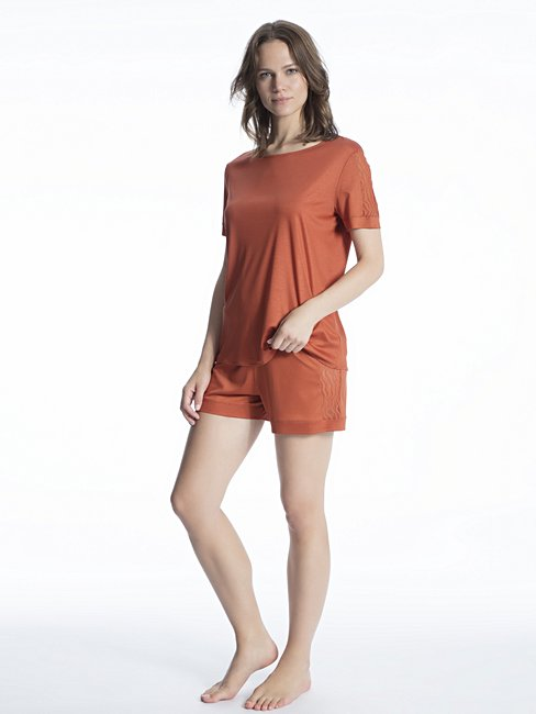 CALIDA Cosy Bamboo Kurz-Pyjama