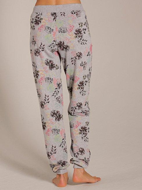 CALIDA Favourites Trend 3 Gemusterte Loungehose mit Rippbündchen