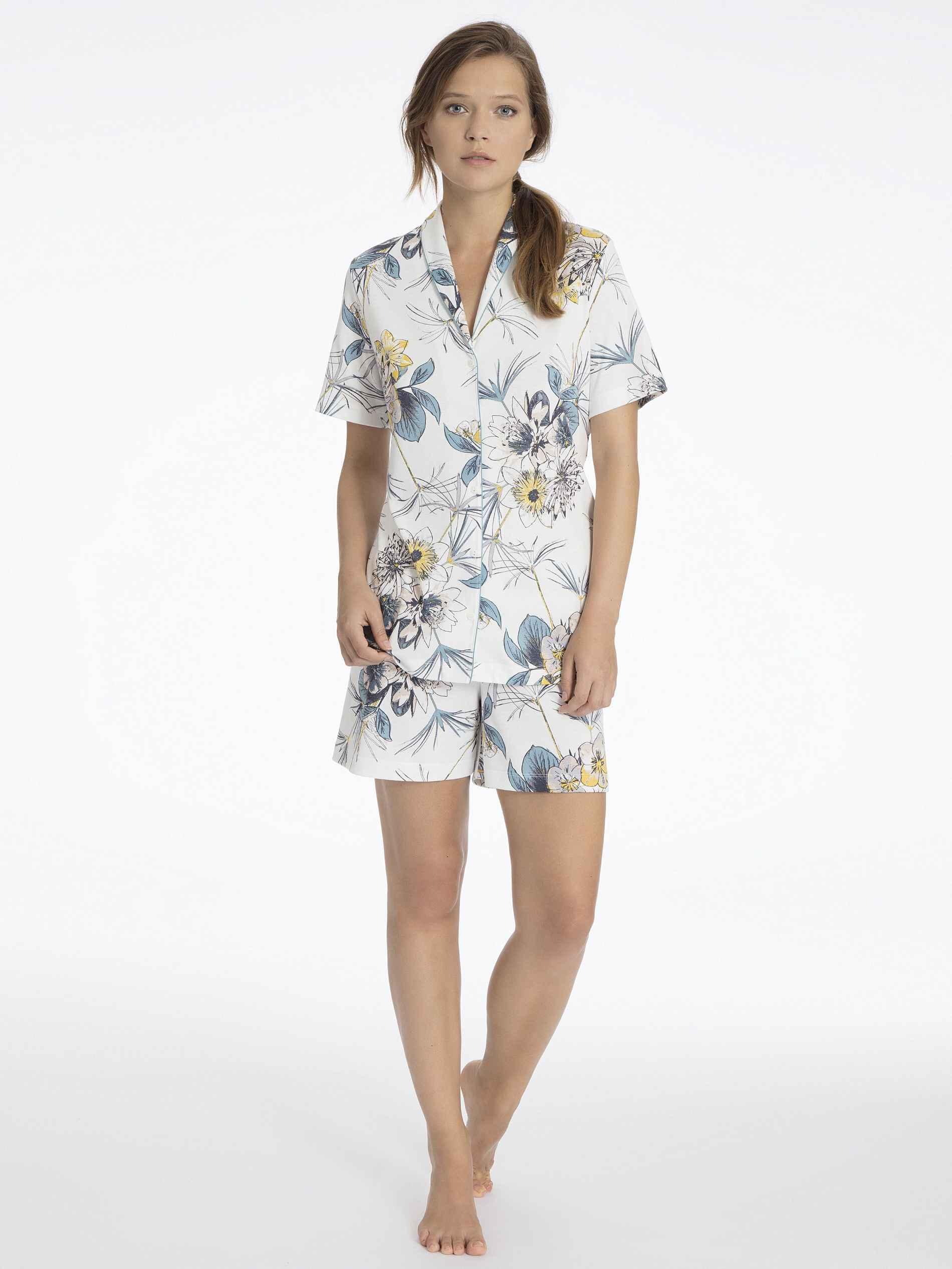 calida dalia kurz pyjama damen pyjamas hausanz ge shopping. Black Bedroom Furniture Sets. Home Design Ideas