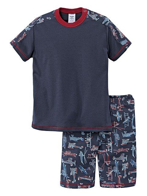 CALIDA My Airplanes Kinder-Kurz-Pyjama