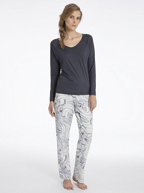 CALIDA Favourites Trend 1 Oversize-Shirt, langarm