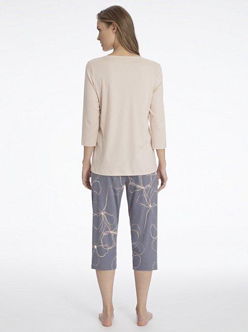 CALIDA Madeleine Pyjama mit 3/4-Arm