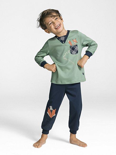 CALIDA Smart Fox Pyjama with cuff